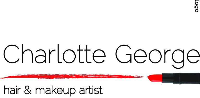 Charlotte George Hair & Makeup Logo graphic design
