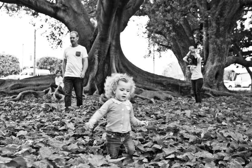 red eclectic family perth family photography 11