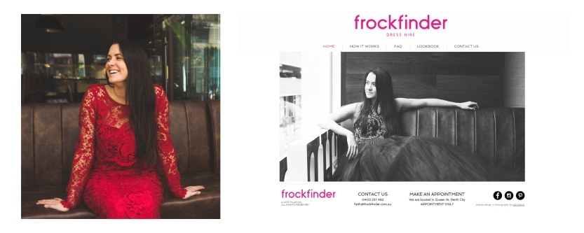 website frockfinder